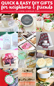 gifts for friends diy gift ideas neighbors
