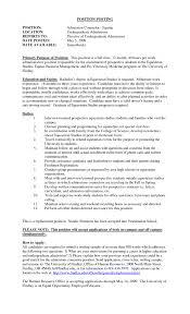 academic advisor resume sample resume admissions counselor resume template admissions counselor resume with images large size