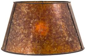 Sconce Lamp Shades Mica Shades Of Amber Or Silver Custom Sizes Shapes And Design Themes