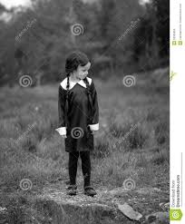 wednesday addams halloween costume halloween fancy dress stock photo image 53505093