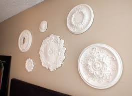 Ceiling Medallions Lowes by Ceiling Medallion Wall Art Two Sisters Crafting