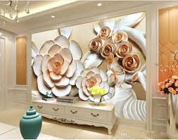 rose flower relief mural tv wall mural 3d wallpaper 3d wall papers rose flower relief mural tv wall mural 3d wallpaper 3d wall papers for tv backdrop beautiful wallpapers bedroom wallpaper from wallpaper20151688