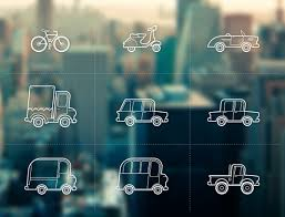 free set of outline vehicles oxygenna themes
