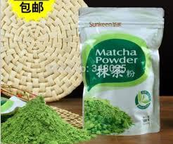 Teh Matcha organic matcha green tea powder healthy for sliming