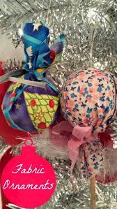 diy fabric bulb ornaments no sew caffeinated army