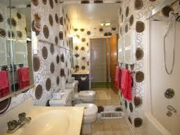 Bathroom Wallpaper Ideas Wood Look Tiles Bathroom Decor