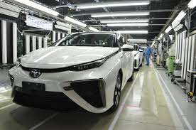 toyota company cars smaller cheaper toyota mirai fuel cell car coming in 2019