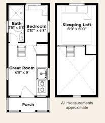 Elm Tiny Home Floor Plan Layouts Pinterest Small House Plans Floor Plan Tiny House
