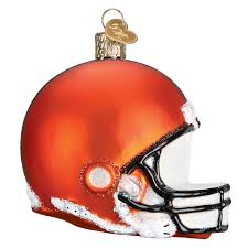 collection of cleveland browns christmas ornaments all can