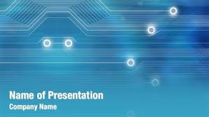 powerpoint themes technology powerpoint tech template abstract