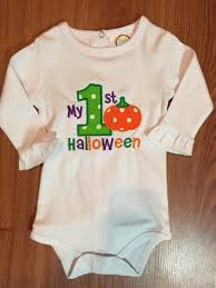 my 1st halloween baby clothes halloween babymineembroidery