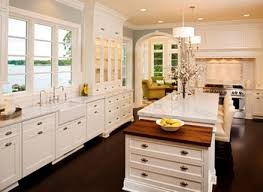 Antique White Kitchen Cabinets Picture How To Change The Look Of Antique White Kitchen Cabinets Image Modern Kitchen Norma Budden
