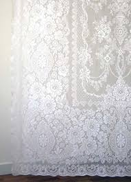 Heirloom Lace Curtains Victorian Rose Is A Traditional Pattern Used Frequently In