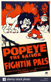 popeye the sailor fightin pals u s poster art right popeye the sailor 1940