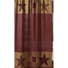 Primitive Kitchen Curtains Lovely Country Star Kitchen Curtains Taste