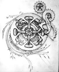 sand clock tattoo designs tattoo design for a friend i know the gears are a little rough