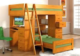 diy loft bed plans with a desk under purple arresting how to build