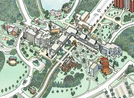 Boston College Campus Map by Campus Maps