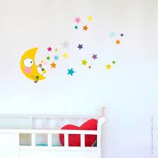 stickers étoile chambre bébé sticker nuit étoilée déco chambre bébé enfant série golo