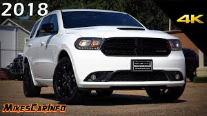jeep durango blacked out 2018 dodge durango gt blacktop ultimate in depth look in 4k