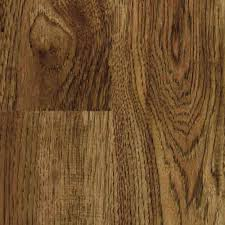 Home Depot Laminate Wood Flooring Trafficmaster Kingston Peak Hickory 8 Mm Thick X 7 9 16 In Wide X