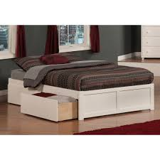 bed frames full size bed with storage and headboard twin bed