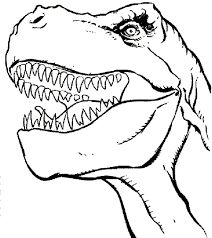 drawn tyrannosaurus rex coloring page pencil and in color drawn