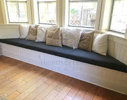 bay window seat cushions bay window cushion etsy