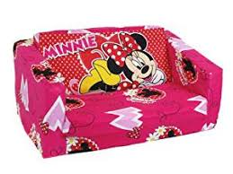 canapé minnie official minnie mouse fold out sofa bed amazon co uk kitchen home