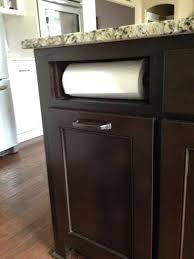 cabinet paper towel holder over cabinet paper towel holder built in paper towel holder such a
