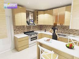 kitchen set minimalis modern mewah terbaru dapur minimalis
