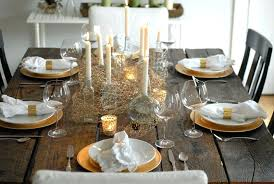 kitchen table setting ideas cool modern table setting ideas in dining room settings casual place