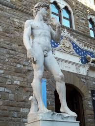 the statues of piazza della signoria kenton de jong travel