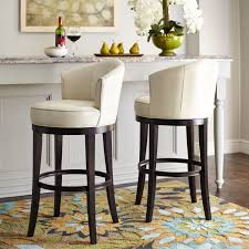 Swivel Counter Stools With Back The Graceful Silhouette And Curved Back Of Our Ellison Barstool