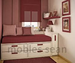design red white small kids room space saving designs for little