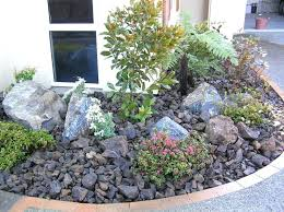Rocks For Garden Edging River Rock Garden Ideas Landscape River Rock How To With Photos
