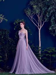 purple wedding dress lavender gown with pleated tulle purple wedding dress