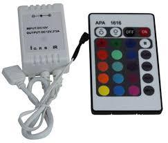 rgb led light controller rgb led strip light controller 24 key infrared controller brightlightz