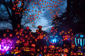 jack o lantern spectacular nighttime display