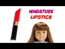 diy american makeup lipstick