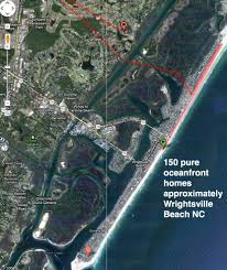 oceanfront ocean view and waterfront homes wilmington north carolina