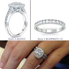 matching wedding rings for him and debebians jewelry matching wedding bands for bel dia