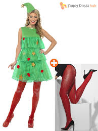 size 8 18 ladies christmas tree tutu womens party fancy