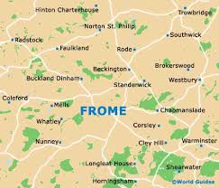 somerset map frome maps and orientation frome somerset