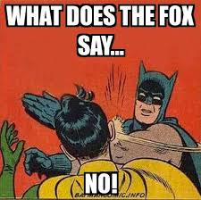 What Did The Fox Say Meme - batman slap what does the fox say no meme explorer