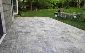 Exterior Tiles For Patios Silver Travertine Outdoor Patio House In Mexico Pinterest
