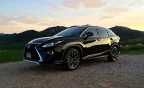 sporty lexus 4 door 2016 lexus rx 350 f sport brings the fun for a price