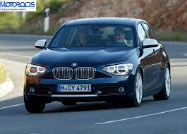bmw one series india bmw to enter the hatchback market in india with the 1 series