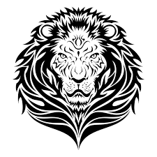 33 best tribal lion tattoo stencils images on pinterest tribal
