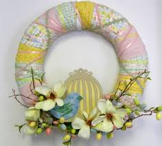 how to make easter wreaths 26 creative and easy diy easter wreaths ideachannels